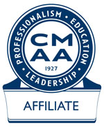 Blue CMAA Affiliate logo for Club Masterminds and Strategic Club Solutions